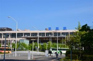 翌朝6時20分に新潟駅前に到着