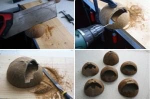 『iCoconut(アイココナッツ)』は天然のココナッツから作られた世界初のiPadスタンド。