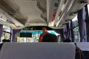 新潟観光コンベンション協会の横山さんから今回のプログラムの趣旨や行程説明など