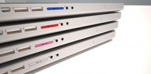 MacBookPro用のNifty MiniDriveをMacBookProに挿入したところ
