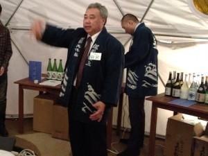 大洋酒造の杜氏・田澤勝さん