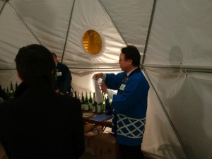 越の華酒造の代表取締役・小野寺聡さん