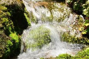 川の様な状態の『鰈山清水』