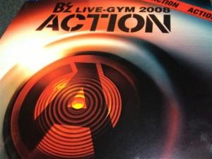 『B'z LIVE-GYM 2008 -ACTION-』リリース