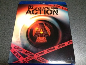 『B'z LIVE-GYM 2008 -ACTION-』のパッケージ