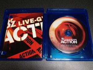 B'z LIVE-GYM 2008 -ACTION-のパッケージを開けてみたところ