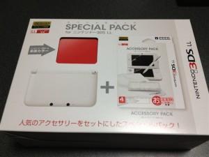 3DS LLのスペシャルパック