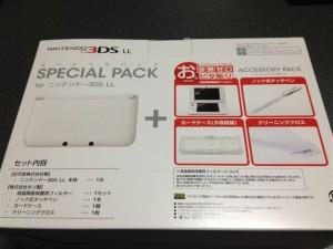 3DS LLのアクセサリーパック