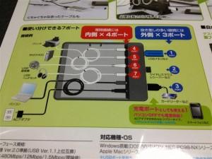 『USB-HBX710BK』の使い方