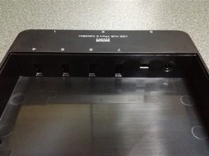 『USB-HBX710BK』の個体内側