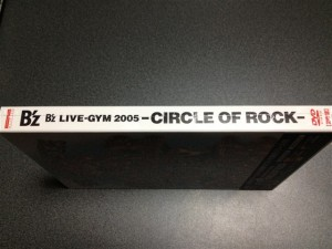 『B'z LIVE-GYM 2005 -CIRCLE OF ROCK-』の背面