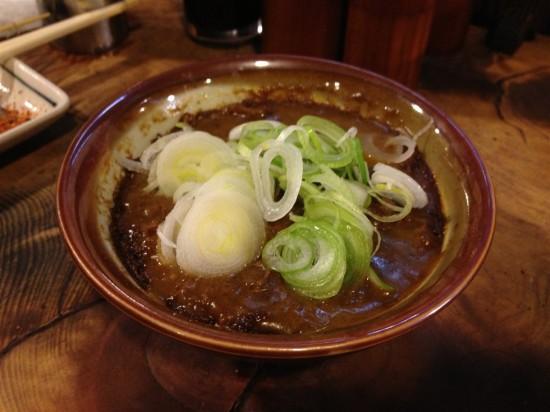 『元祖カレー煮込』450円