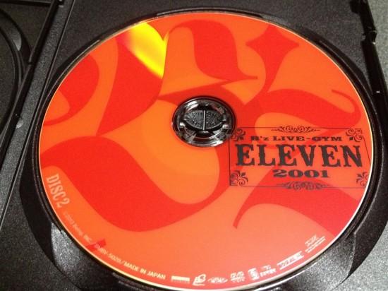 DISC2はパッケージに印刷されているロゴと同じオレンジ色のレーベル