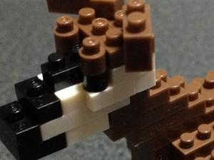 ズーラシア限定ナノブロック『オカピ』を作ってみた