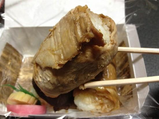 豚肉の肉巻おむすび