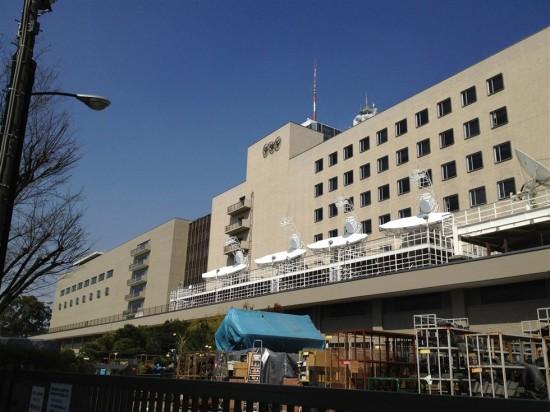 渋谷駅から徒歩15分程の場所にある『NHK放送センター』