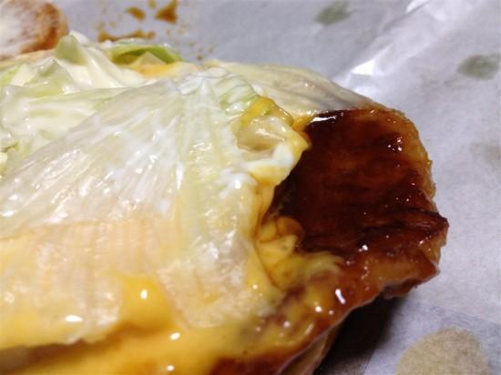 チーズてりたまのポークパティ