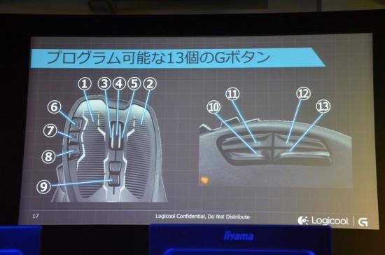 ロジクールゲーミングマウスのフラッグシップモデルとなるG700s