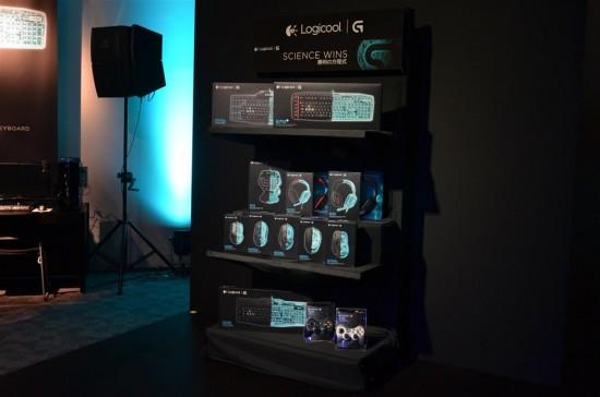 ロジクールのGシリーズはこの様に統一された黒いパッケージで販売