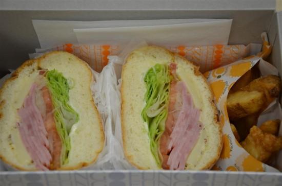 イベント開始前に頂いたサンドイッチもとっても美味しかったです