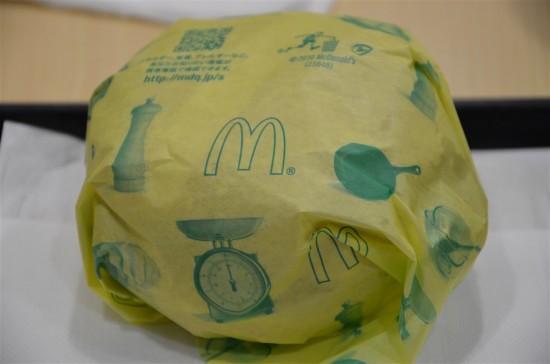 バーベキューチキンの包み紙