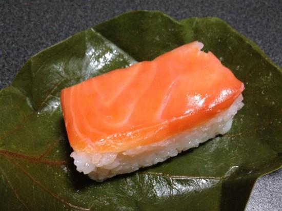 柿の葉寿司『さけ』