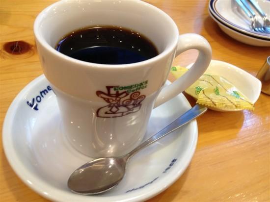 たっぷりブレンドコーヒー(500円)