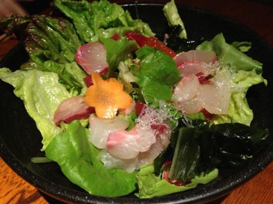 海鮮うおいちやサラダ