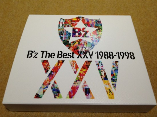 B'z The Best XXV 1988-1998のパッケージ