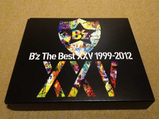 B'z The Best XXV 1999-2012のパッケージ