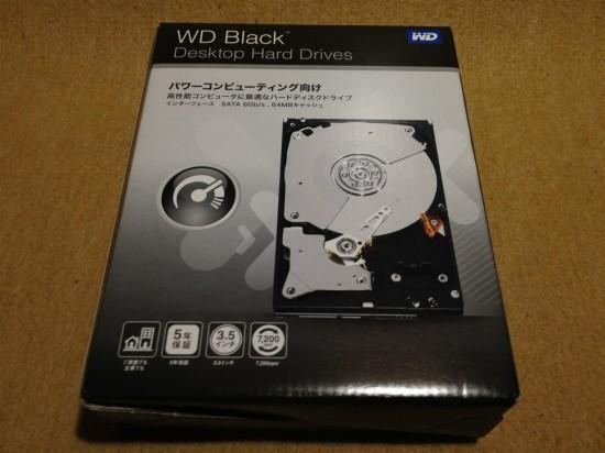 WD Black 3.5inch 7200rpm 1TB 64MB SATA3.0 WD1002FAEX