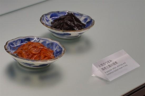 海老と蕗(ふき)の佃煮