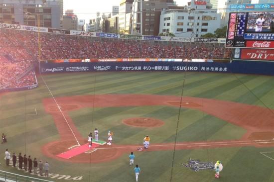 横浜ベイスターズ vs 広島カープ(2013/08/17)