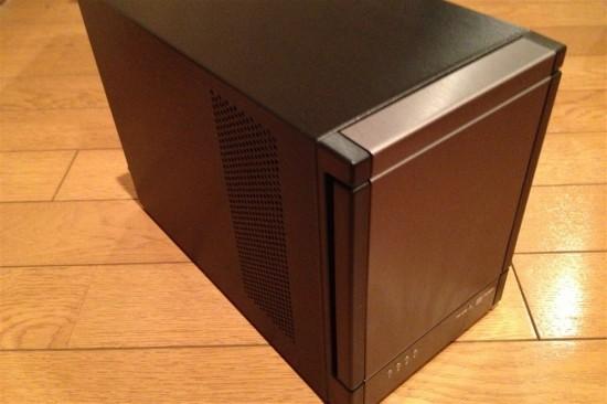 RAID機能付きHDD4段ケース『DP-4043』レビュー