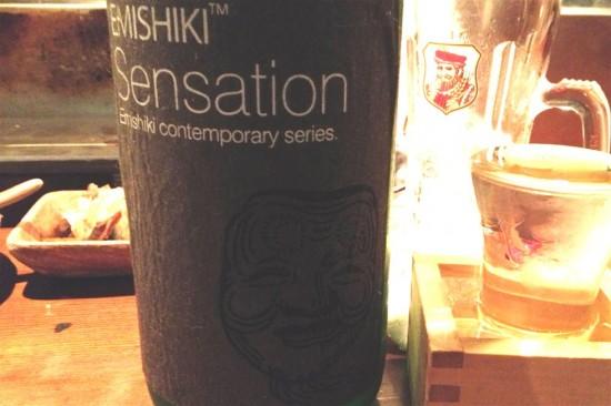 [日本酒] 滋賀『笑四季 特別純米 黒ラベル 火入れ』