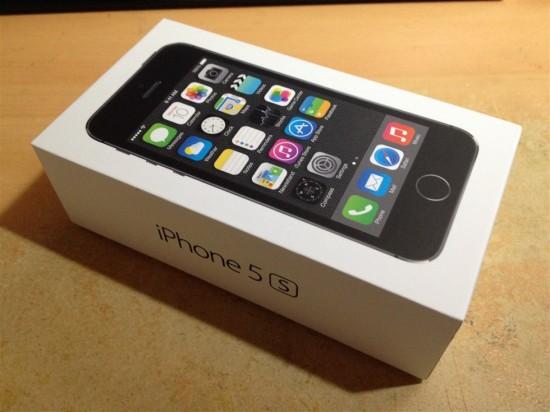iPhone5sのパッケージ