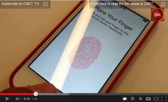 iPhone5sに搭載される指紋認証が凄い!