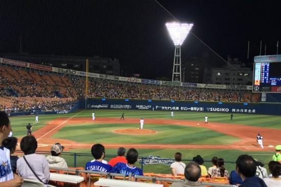 横浜ベイスターズ vs 阪神タイガース(2013/10/03)