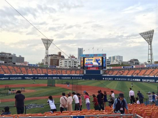 横浜ベイスターズ vs 阪神タイガース