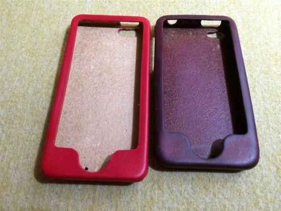 約2年間使用した革製iPhoneケース