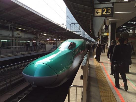 東北新幹線『はやぶさ』の車両