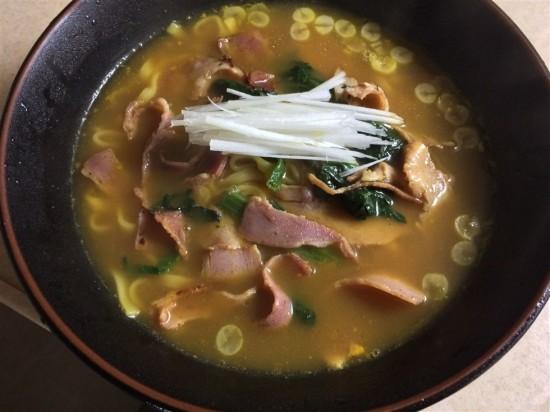 マルちゃん正麺 カレーうどんの完成