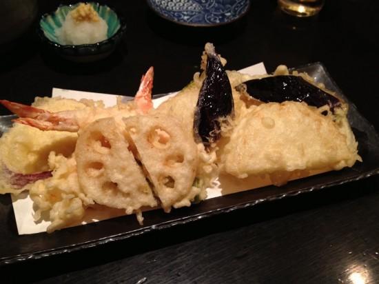 天ぷら盛り