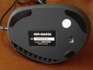 400-MA036の裏面