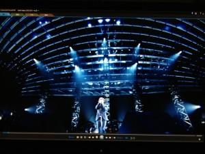 Koshi Inaba LIVE 2010~en II~のブルーレイディスク再生画面