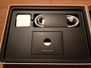 MacBookAirの付属品