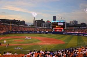 横浜スタジアムで野球を観てきた(20120913)
