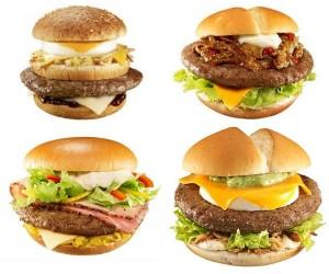 『Big America』全四種類の栄養成分比較
