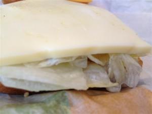 ゴーダチーズの厚み