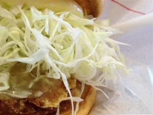 モスバーガーで豚天バーガーを食べてきた